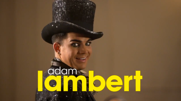Glee-Adam-Lambert-Video