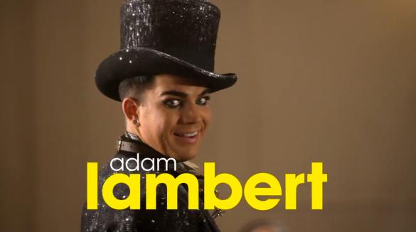 Glee-Adam-Lambert-Video